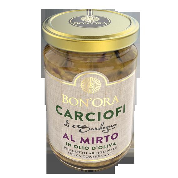 Carciofi al Mirto Bon'Ora Prodotti di Sardegna