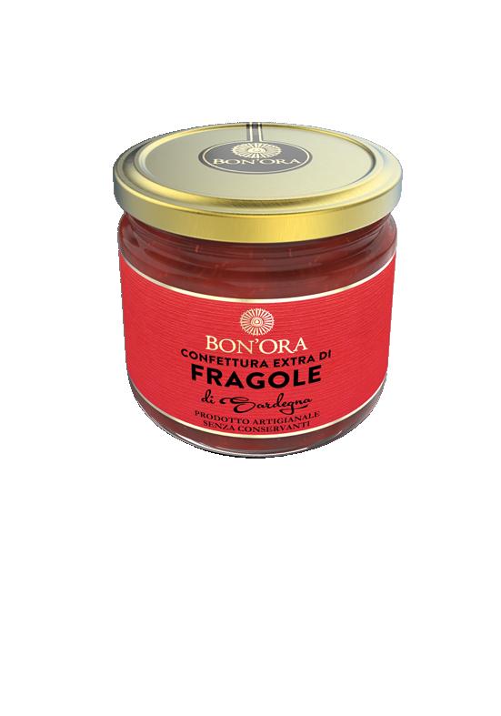 Confettura Extra di Fragole Bon'Ora Prodotti di Sardegna