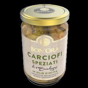 Carciofi Speziati Bon'Ora Prodotti di Sardegna
