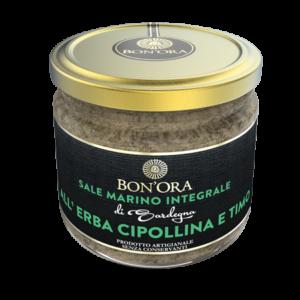 Sale marino integrale all'Erba Cipollina e Timo Bon'Ora Prodotti di Sardegna PORTFOLIO