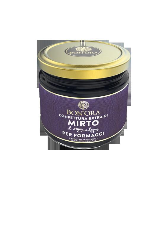 Confettura Extra di Mirto Bon'Ora Prodotti di Sardegna