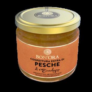 Confettura Extra di Pesche Bon'Ora Prodotti di Sardegna