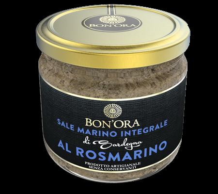 Sale marino integrale al rosmarino Bon'Ora Prodotti di Sardegna PORTFOLIO
