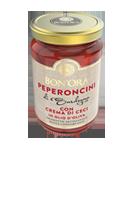 Peperoncini con crema di ceci Bon'Ora Prodotti di Sardegna