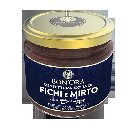 Confettura Extra di Fichi e Mirto Bon'Ora Prodotti di Sardegna
