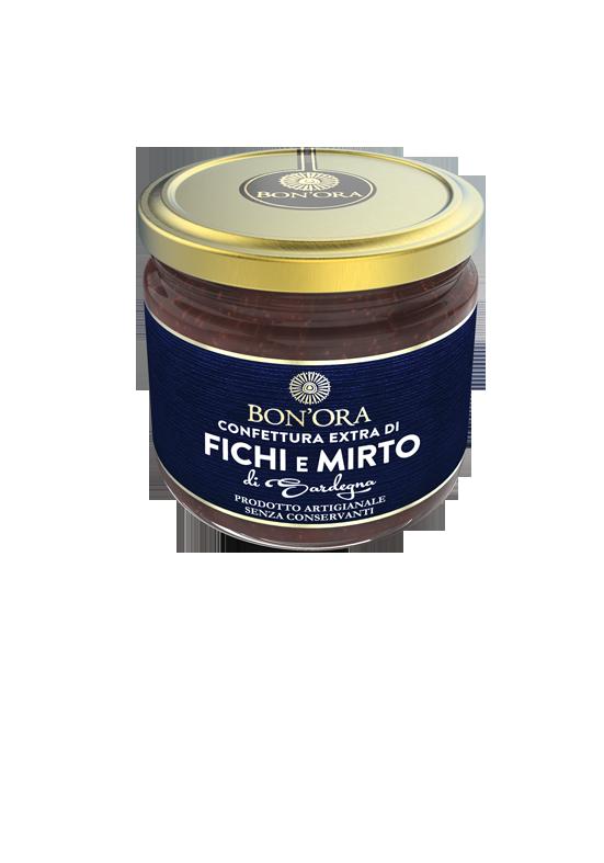 Confettura Extra di Fichi con Mirto Bon'Ora Prodotti di Sardegna