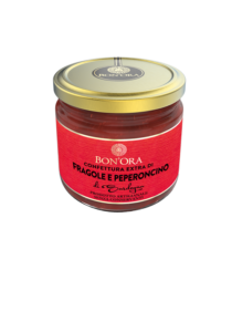 Confettura Extra di Fragole e Peperoncino Bon'Ora Prodotti di Sardegna