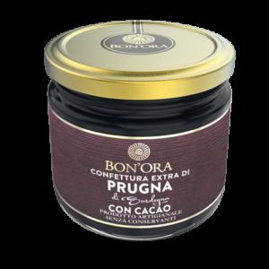 Confettura Extra di Prugna con Cacao Bon'Ora Prodotti di Sardegna
