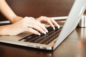 laptop social media