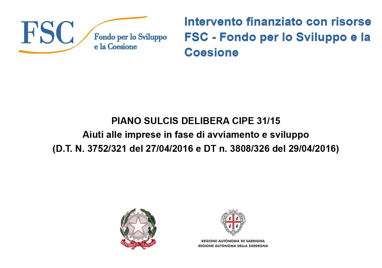 targa fsc fondo per lo sviluppo e la coesione