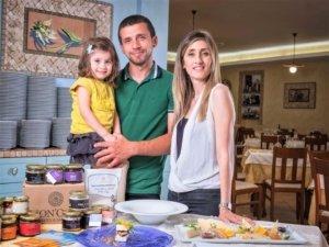 famiglia Ester Fadda e Enrico Cannavà